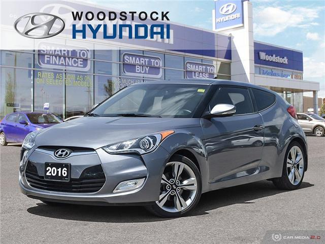 2016 Hyundai Veloster Tech (Stk: KA19041A) in Woodstock - Image 1 of 27
