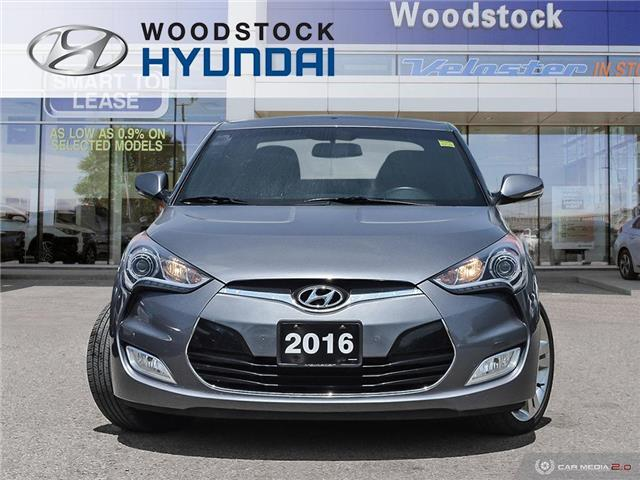 2016 Hyundai Veloster Tech (Stk: KA19041A) in Woodstock - Image 2 of 27