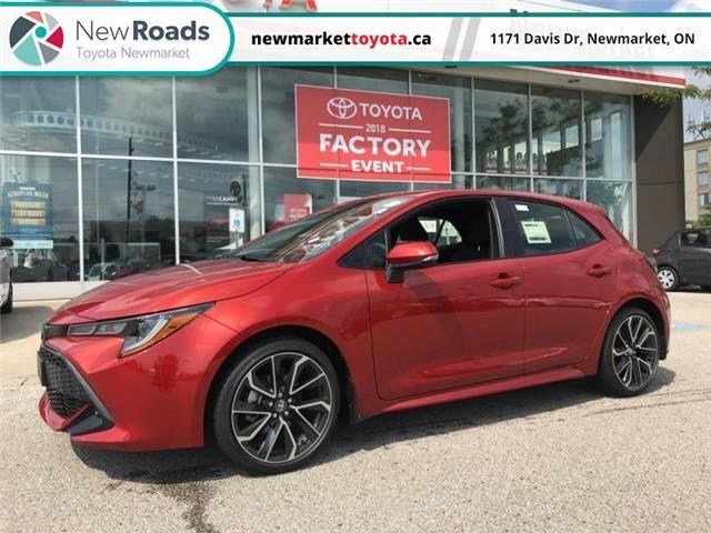 2019 Toyota Corolla Hatchback Base (Stk: 34539) in Newmarket - Image 1 of 17