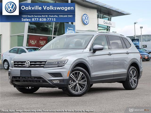2019 Volkswagen Tiguan Highline (Stk: 21485) in Oakville - Image 1 of 23