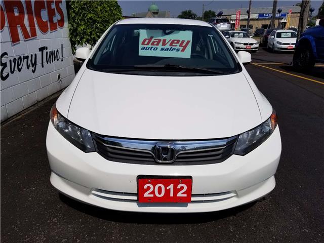 2012 Honda Civic LX (Stk: 19-523T) in Oshawa - Image 2 of 14