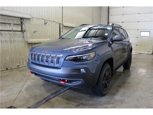 2019 Jeep Cherokee Trailhawk (Stk: KT106) in Rocky Mountain House - Image 1 of 28