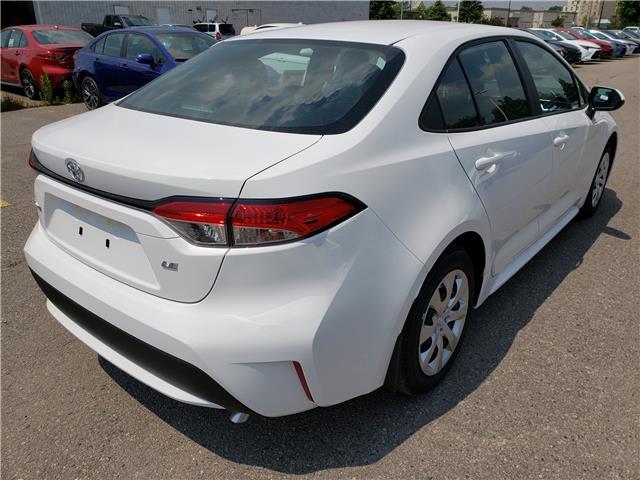 2020 Toyota Corolla LE (Stk: 20-163) in Etobicoke - Image 4 of 5