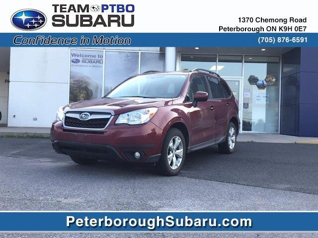 2015 Subaru Forester 2.5i Convenience Package (Stk: S3958A) in Peterborough - Image 1 of 2