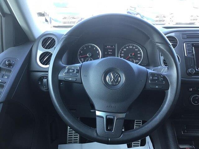 2017 Volkswagen Tiguan Wolfsburg Edition (Stk: H12104A) in Peterborough - Image 11 of 16