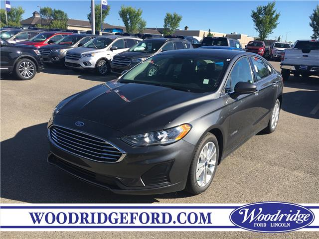 2019 Ford Fusion Hybrid SE (Stk: K-1508) in Calgary - Image 1 of 5