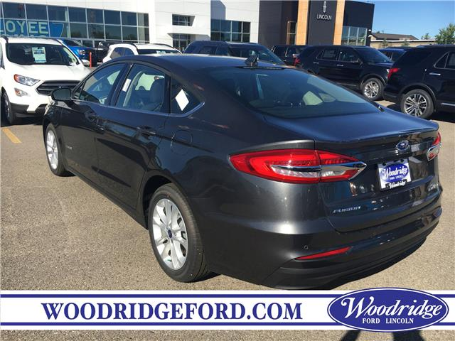 2019 Ford Fusion Hybrid SE (Stk: K-1508) in Calgary - Image 3 of 5