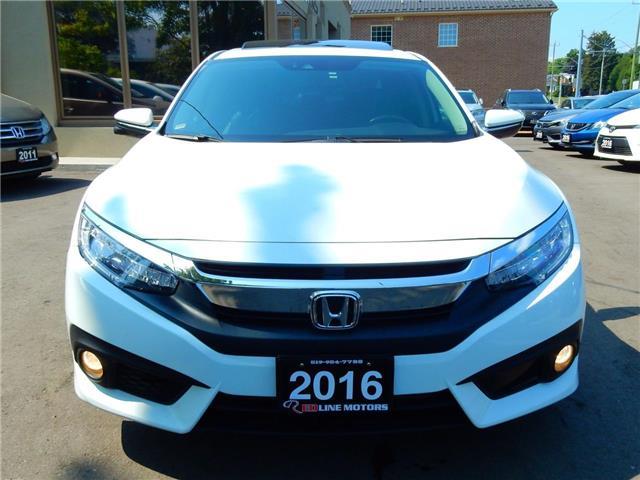 2016 Honda Civic Touring (Stk: 2HGFC1) in Kitchener - Image 2 of 26