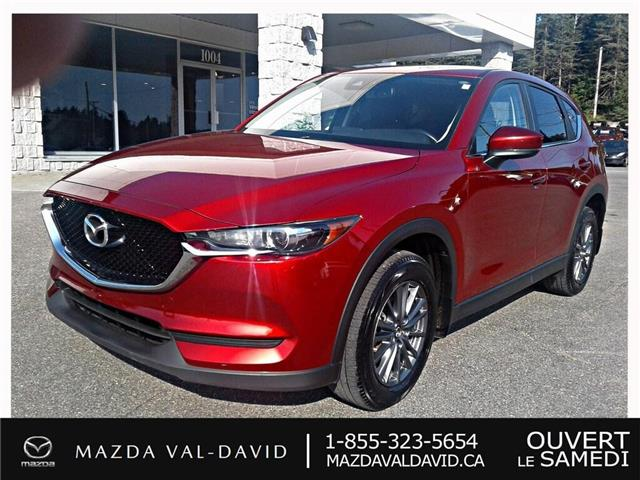 2017 Mazda CX-5 GS (Stk: 19384A) in Val-David - Image 1 of 28