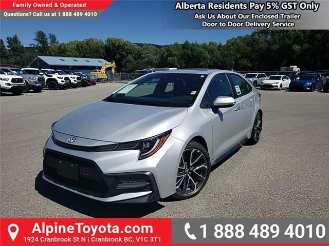 2020 Toyota Corolla SE (Stk: P008202) in Cranbrook - Image 1 of 23