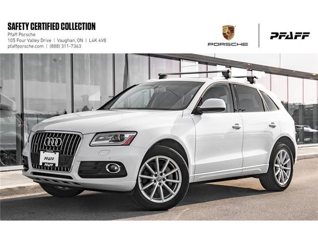 2016 Audi Q5 3.0T Technik quattro 8sp Tiptronic (Stk: P13481A) in Vaughan - Image 1 of 22