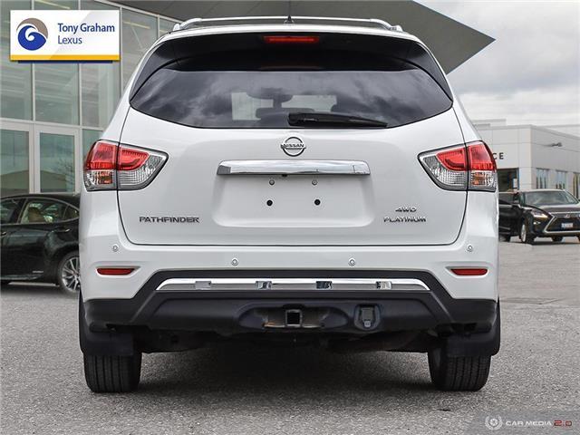 2014 Nissan Pathfinder Platinum (Stk: P8270A) in Ottawa - Image 5 of 30