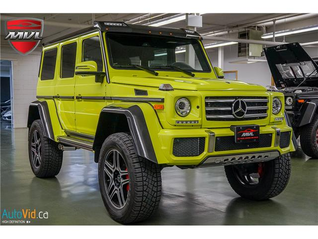 2018 Mercedes-Benz G-Class Base G550 4x4 Squared at $279888