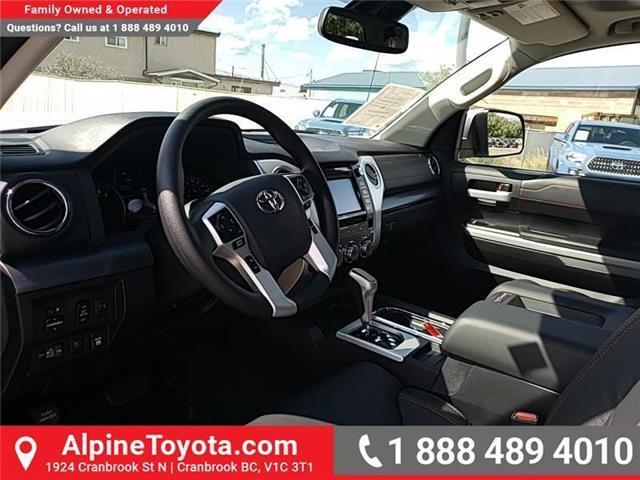 2019 Toyota Tundra SR5 Plus 5.7L V8 (Stk: X861170) in Cranbrook - Image 9 of 27