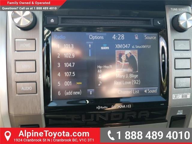 2019 Toyota Tundra SR5 Plus 5.7L V8 (Stk: X861170) in Cranbrook - Image 15 of 27
