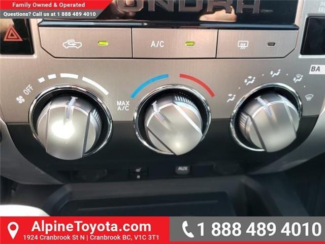 2019 Toyota Tundra SR5 Plus 5.7L V8 (Stk: X861170) in Cranbrook - Image 21 of 27
