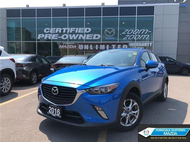 2016 Mazda CX-3 GS (Stk: P1929) in Toronto - Image 1 of 21