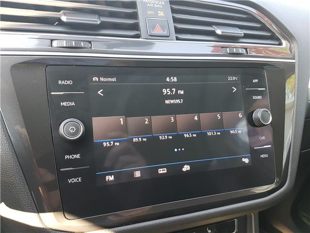 2018 Volkswagen Tiguan Trendline (Stk: 00148) in Middle Sackville - Image 17 of 27