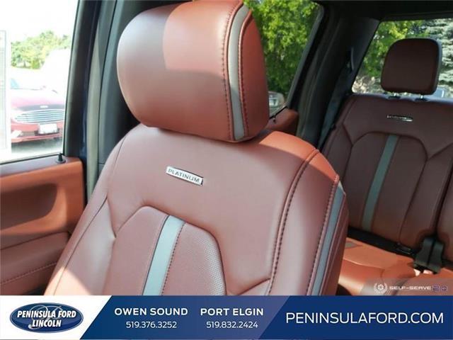 2019 Ford F-150 Platinum (Stk: 19FE151) in Owen Sound - Image 19 of 24