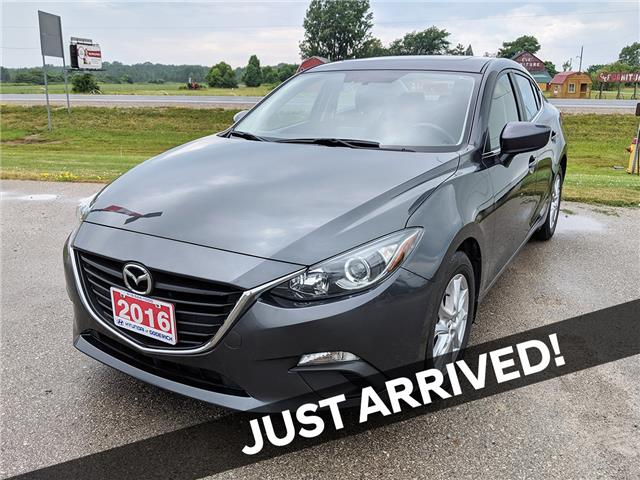 2016 Mazda Mazda3 GS (Stk: 90198A) in Goderich - Image 1 of 16