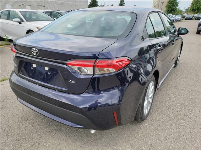 2020 Toyota Corolla LE (Stk: 20-177) in Etobicoke - Image 4 of 7