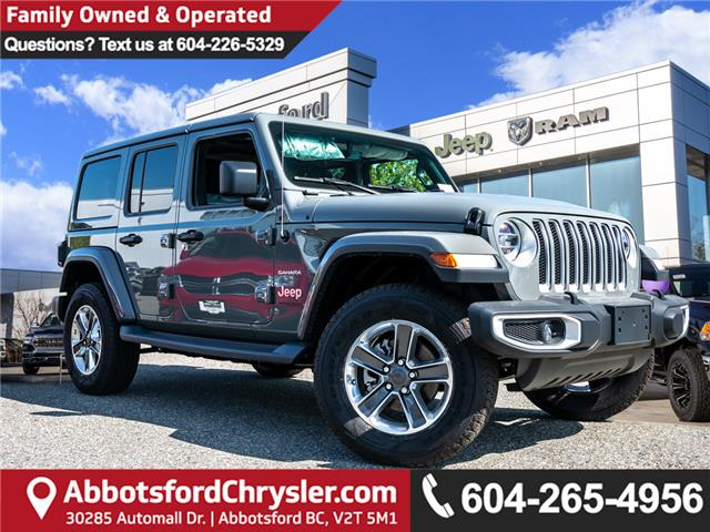 2019 Jeep Wrangler Unlimited Sahara (Stk: K628821) in Abbotsford - Image 1 of 24