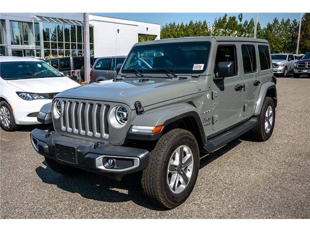 2019 Jeep Wrangler Unlimited Sahara (Stk: K628821) in Abbotsford - Image 3 of 23