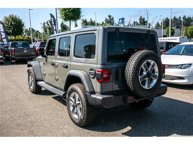 2019 Jeep Wrangler Unlimited Sahara (Stk: K628821) in Abbotsford - Image 5 of 23
