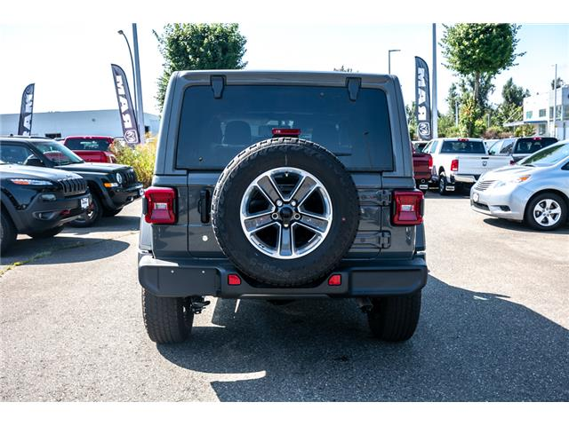 2019 Jeep Wrangler Unlimited Sahara (Stk: K628821) in Abbotsford - Image 6 of 23