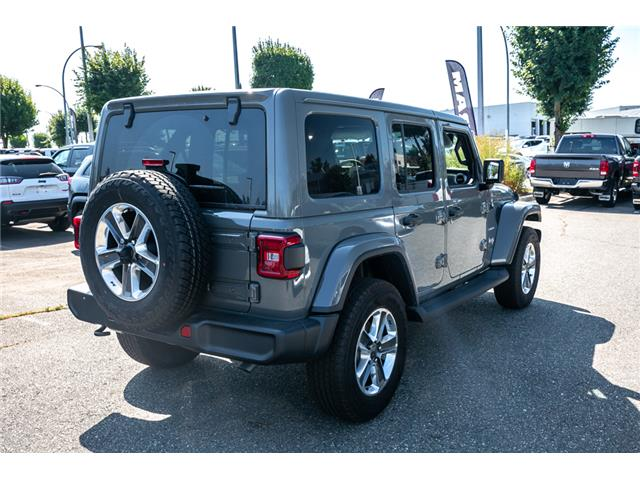 2019 Jeep Wrangler Unlimited Sahara (Stk: K628821) in Abbotsford - Image 7 of 23