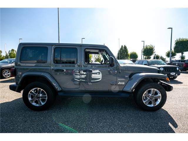 2019 Jeep Wrangler Unlimited Sahara (Stk: K628821) in Abbotsford - Image 8 of 23