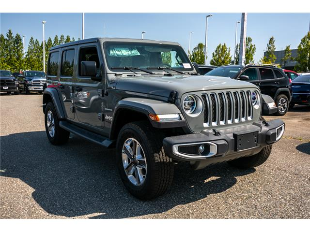 2019 Jeep Wrangler Unlimited Sahara (Stk: K628821) in Abbotsford - Image 9 of 23
