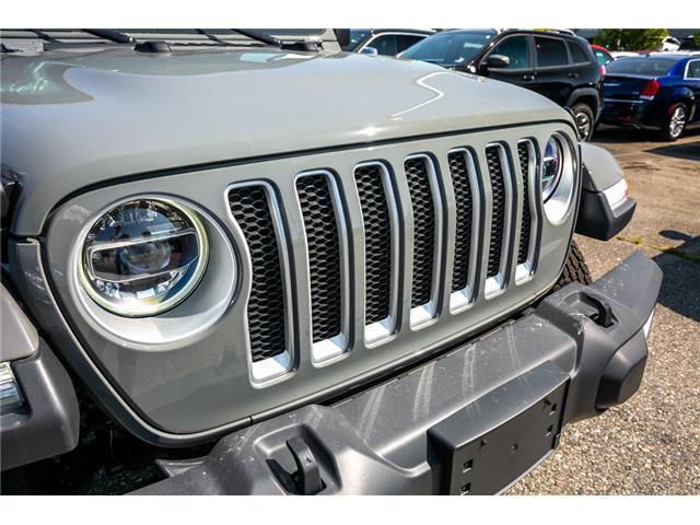 2019 Jeep Wrangler Unlimited Sahara (Stk: K628821) in Abbotsford - Image 10 of 23