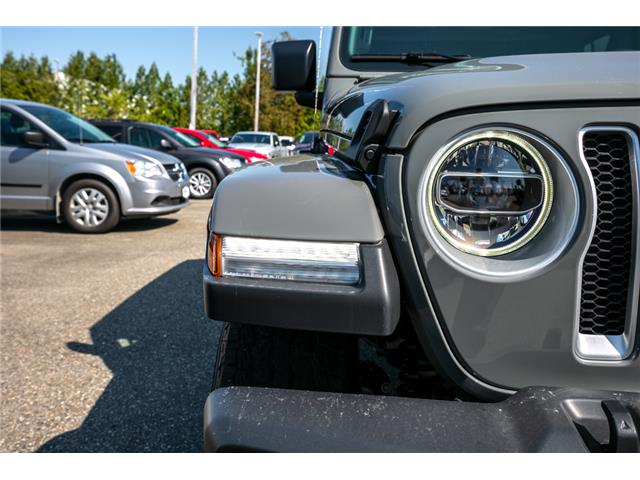 2019 Jeep Wrangler Unlimited Sahara (Stk: K628821) in Abbotsford - Image 11 of 23