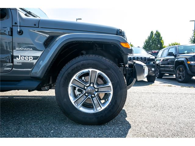 2019 Jeep Wrangler Unlimited Sahara (Stk: K628821) in Abbotsford - Image 12 of 23