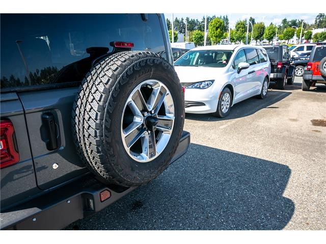 2019 Jeep Wrangler Unlimited Sahara (Stk: K628821) in Abbotsford - Image 13 of 23