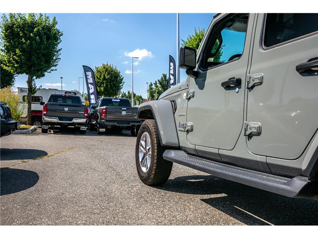 2019 Jeep Wrangler Unlimited Sahara (Stk: K628821) in Abbotsford - Image 14 of 23