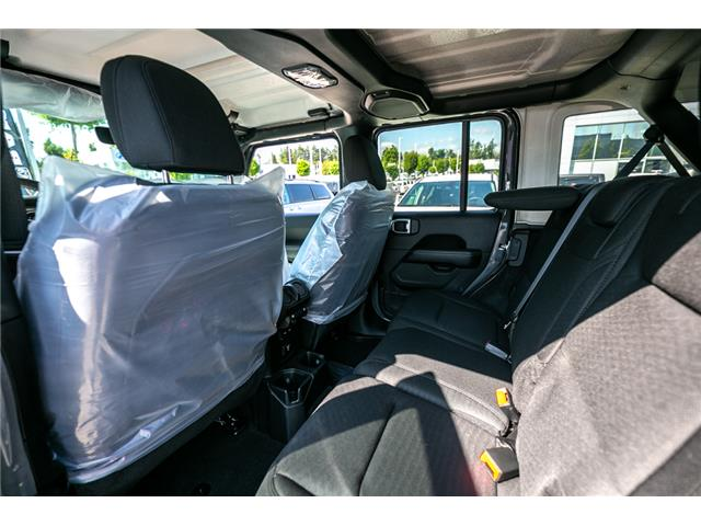 2019 Jeep Wrangler Unlimited Sahara (Stk: K628821) in Abbotsford - Image 15 of 23