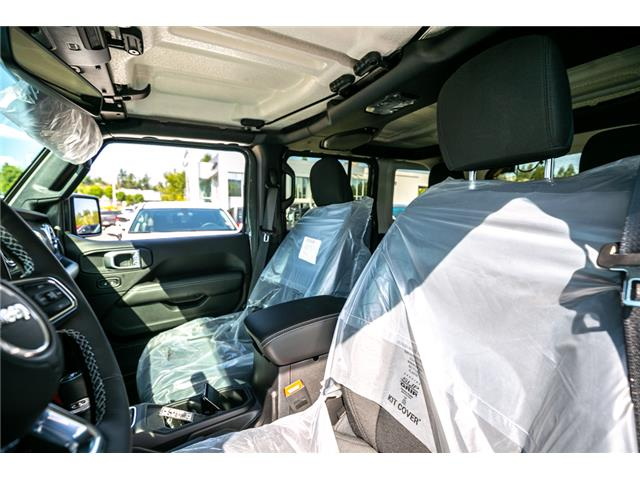 2019 Jeep Wrangler Unlimited Sahara (Stk: K628821) in Abbotsford - Image 20 of 23