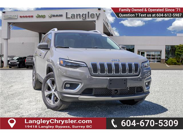 2019 Jeep Cherokee Limited (Stk: K450358) in Surrey - Image 1 of 27