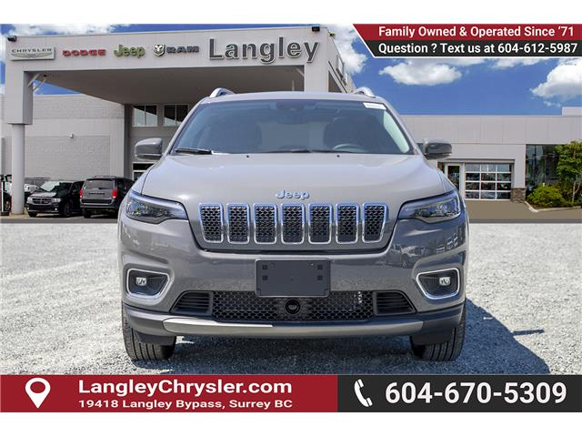 2019 Jeep Cherokee Limited (Stk: K450358) in Surrey - Image 2 of 27