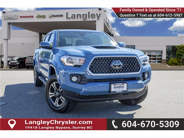 2019 Toyota Tacoma SR5 V6 (Stk: K573339A) in Surrey - Image 1 of 24