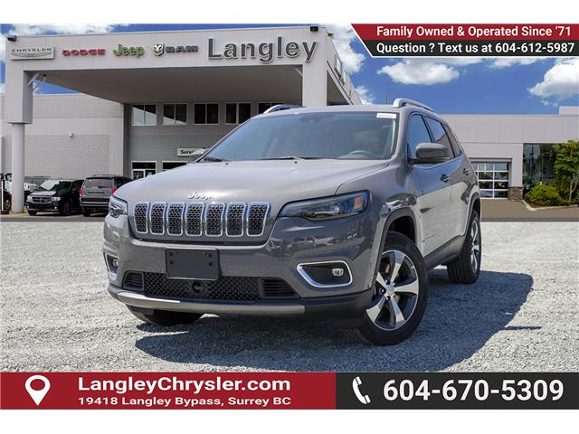 2019 Jeep Cherokee Limited (Stk: K450358) in Surrey - Image 3 of 27