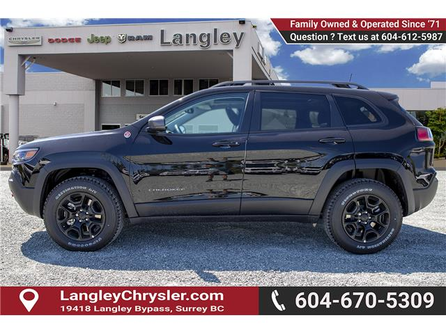 2019 Jeep Cherokee Trailhawk (Stk: K479989) in Surrey - Image 4 of 27
