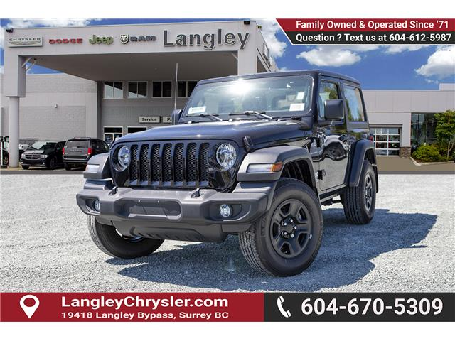 2019 Jeep Wrangler Sport (Stk: K633076) in Surrey - Image 3 of 22