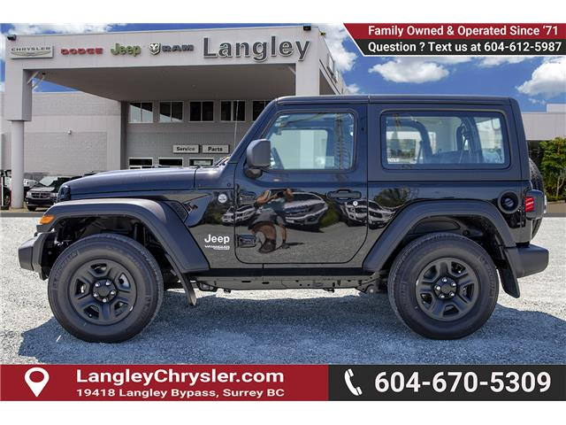 2019 Jeep Wrangler Sport (Stk: K633076) in Surrey - Image 4 of 22