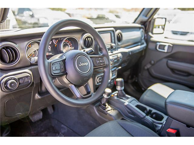 2019 Jeep Wrangler Sport (Stk: K633076) in Surrey - Image 10 of 22