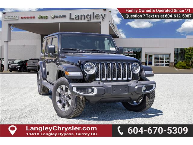2019 Jeep Wrangler Unlimited Sahara (Stk: K654038) in Surrey - Image 1 of 26