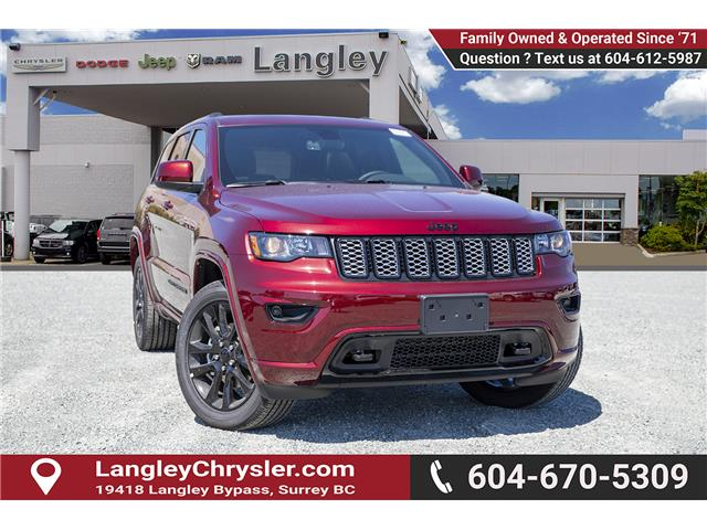 2019 Jeep Grand Cherokee Laredo (Stk: K822669) in Surrey - Image 1 of 25