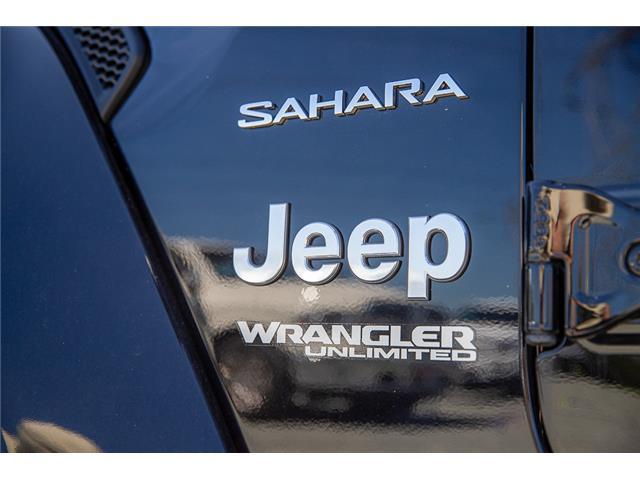 2019 Jeep Wrangler Unlimited Sahara (Stk: K647514) in Surrey - Image 8 of 21